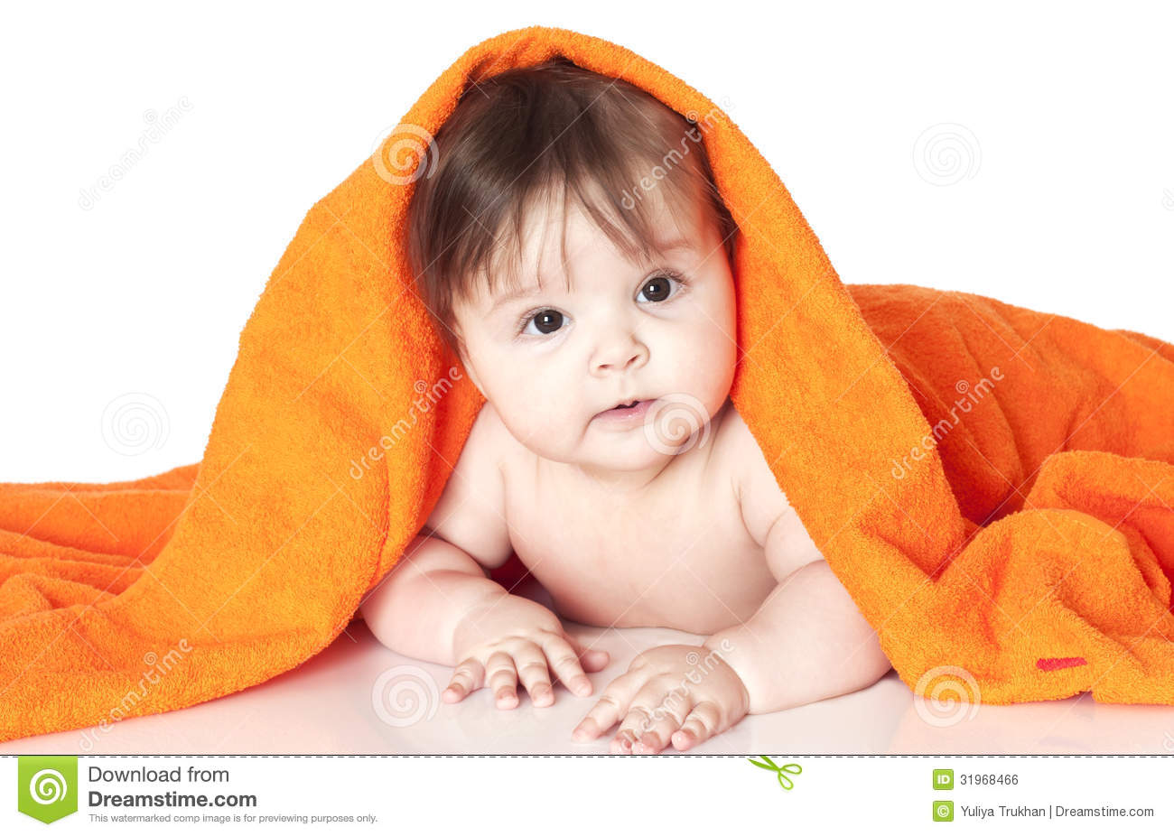 small happy child stock photo. image of naked, human - 31968466