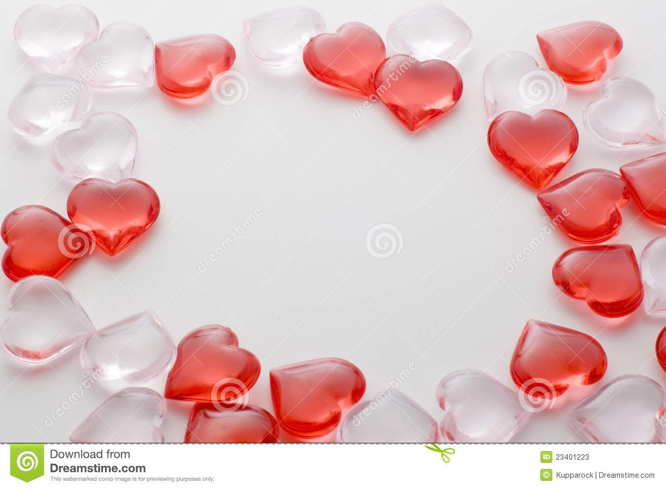Small heart shape frame stock image. Image of space, figurines ...