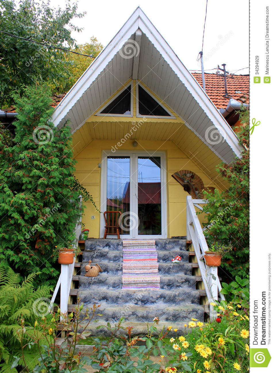 Admirable Small House Royalty Free Stock Images Image 34294929 Largest Home Design Picture Inspirations Pitcheantrous