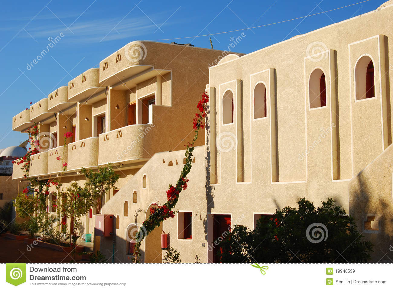 Small hotel royalty free stock images image 19940539 for Small resort