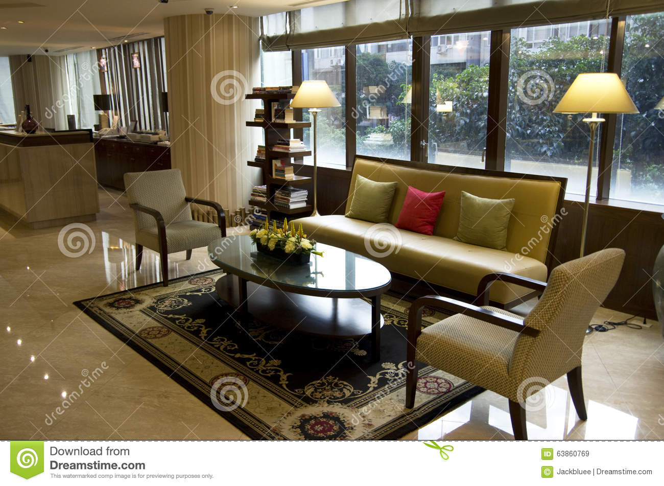 Small hotel lobby stock photo image 63860769 for Small great hotels