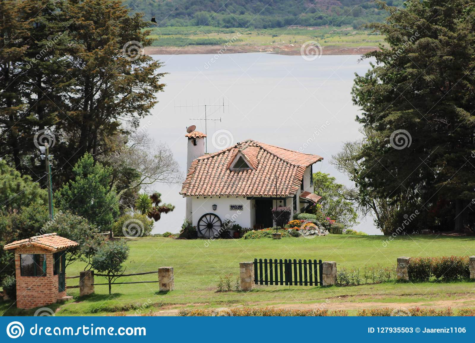 Small house in the countryside of Colombia