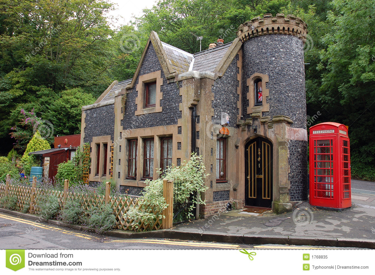 Small house in england.