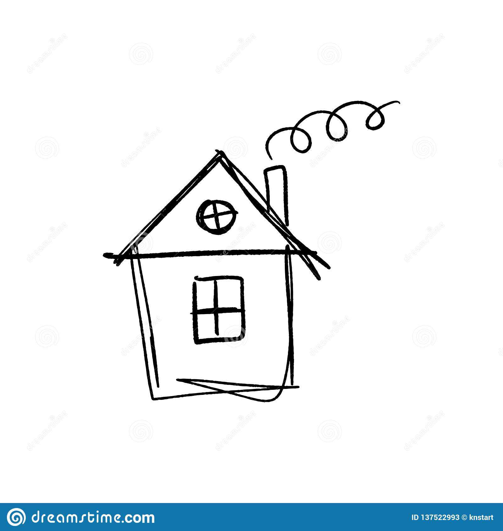 Simple House Sketch Stock Illustrations 6 464 Simple House Sketch Stock Illustrations Vectors Clipart Dreamstime