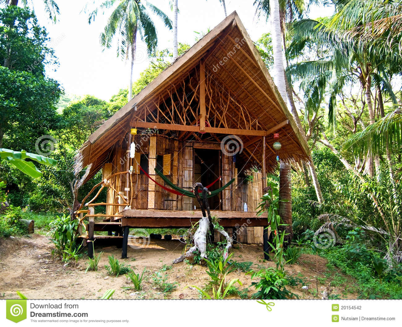 Small hut stock photography image 20154542 for Small hut plans