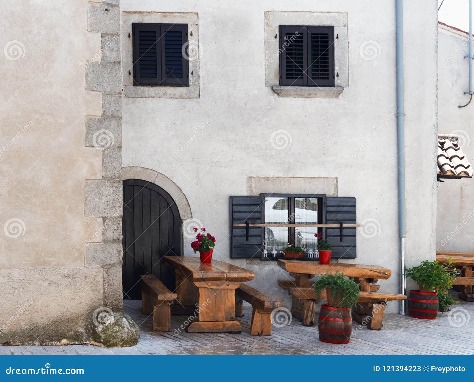 Superb Small Intimate Restaurant In A Mediterranean Style Stock Inzonedesignstudio Interior Chair Design Inzonedesignstudiocom
