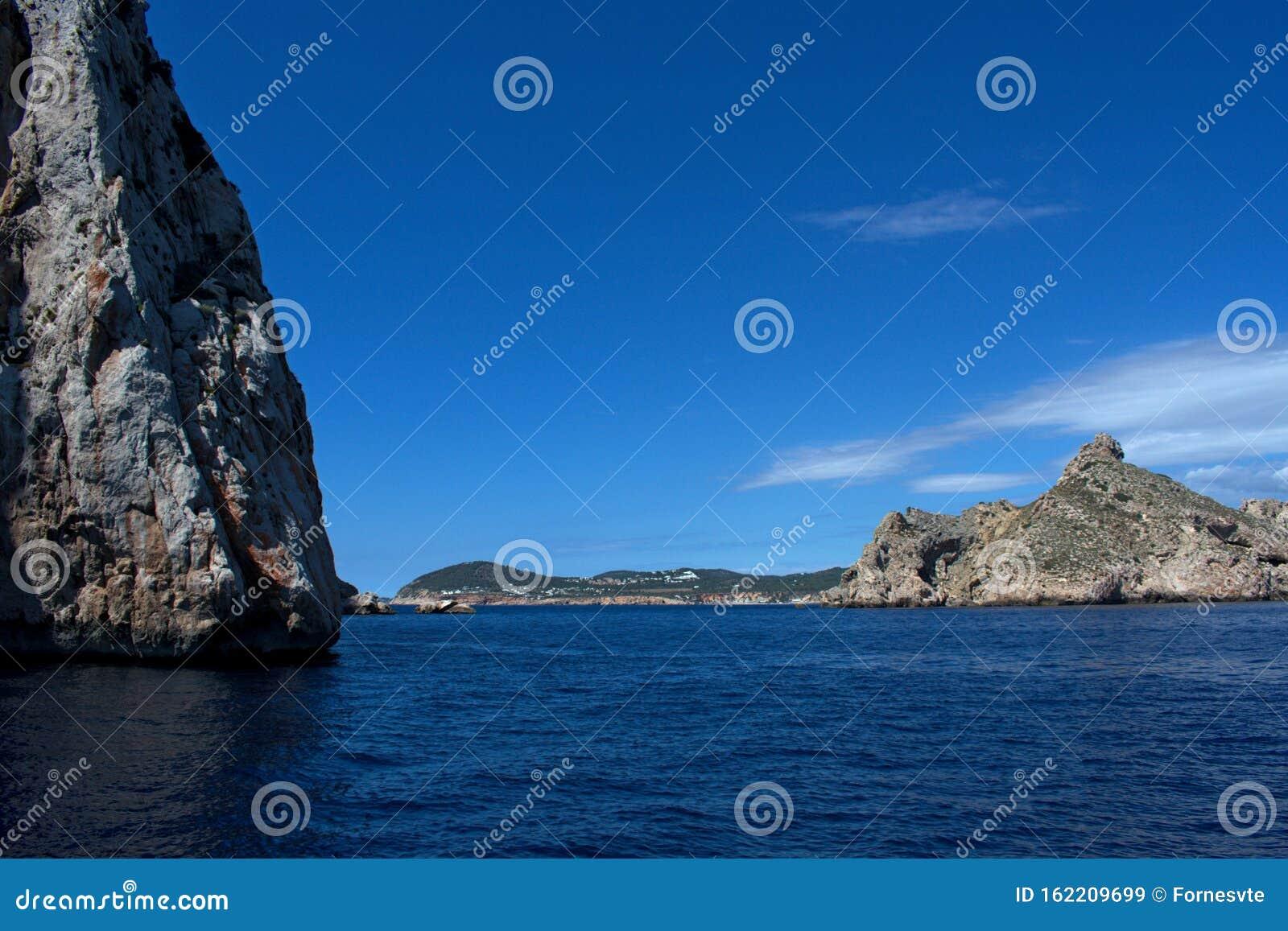Small Islands Near San Antonio Ibiza Spain Stock Image Image Of Community Islands 162209699