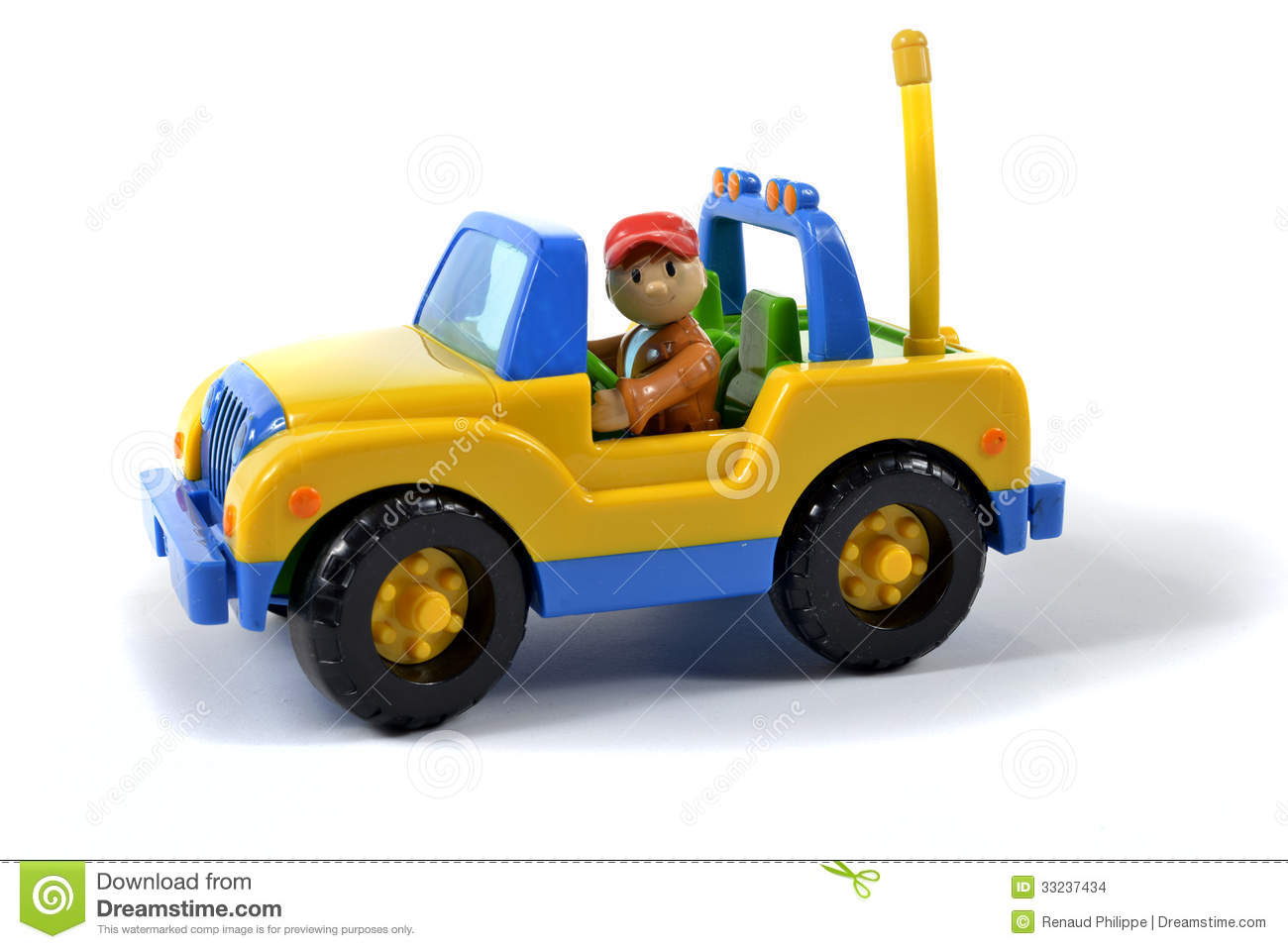 Small Jeep Toy Stock Photo Image Of Automobile Yellow 33237434