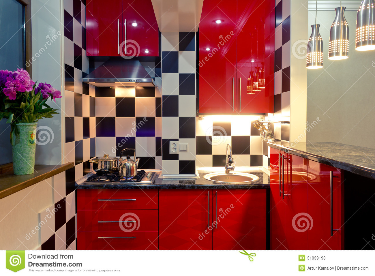 small kitchen interior - Small Kitchen Interior