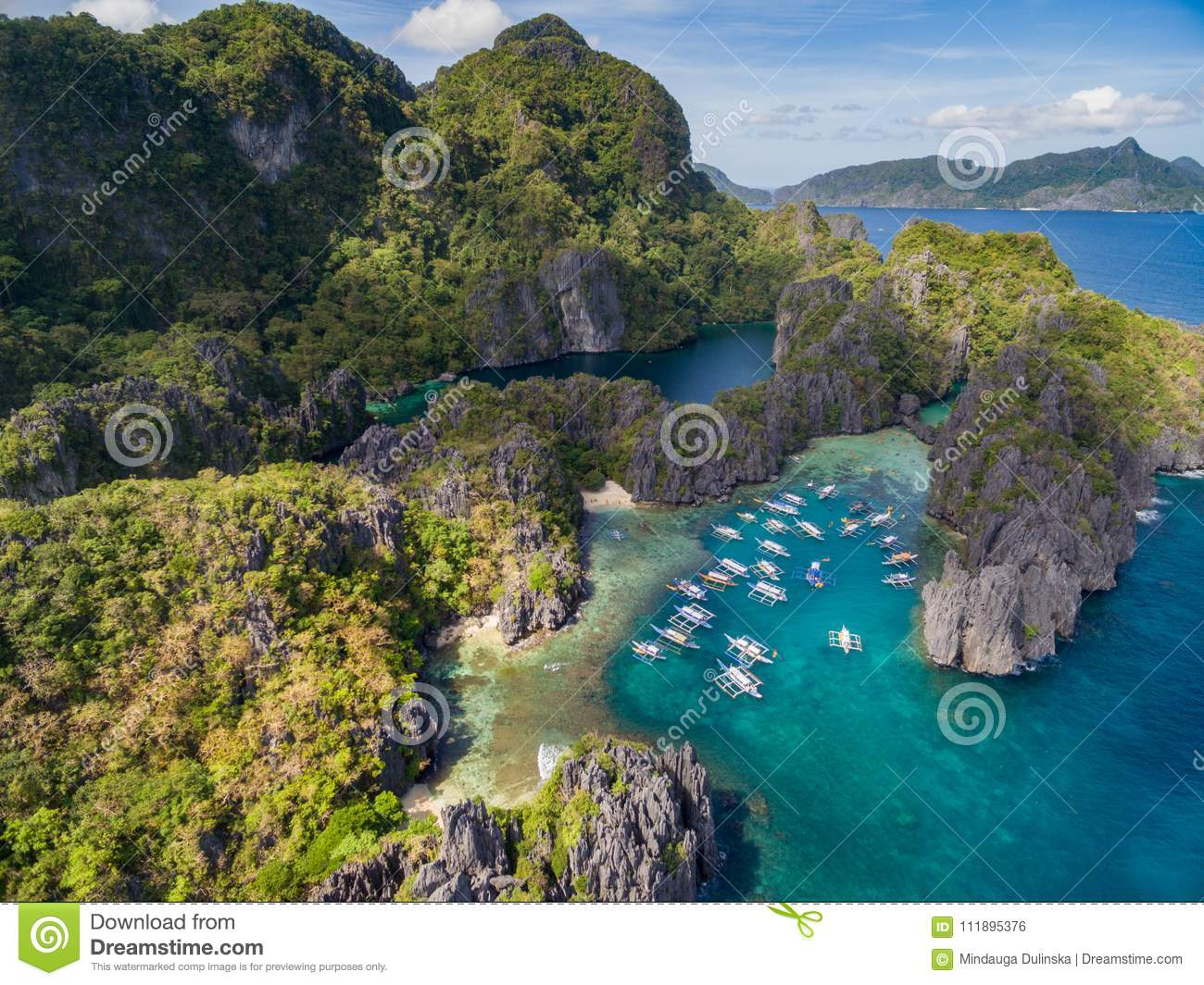 The Secret Lagoon of Miniloc Island: El Nido, Palawan ...
