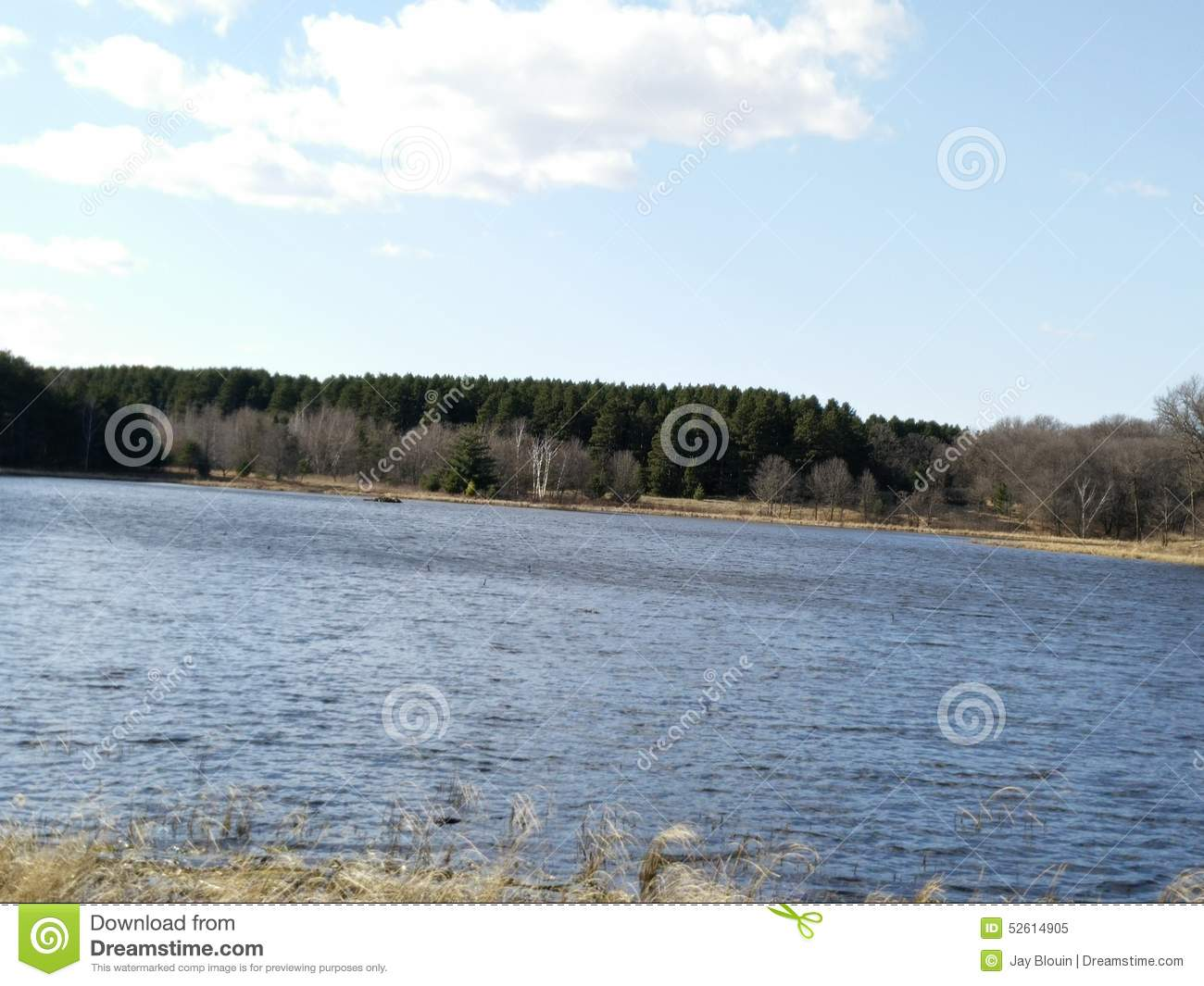 Princeton (MN) United States  city photos gallery : Small Lake Sandy Stock Photo Image: 52614905