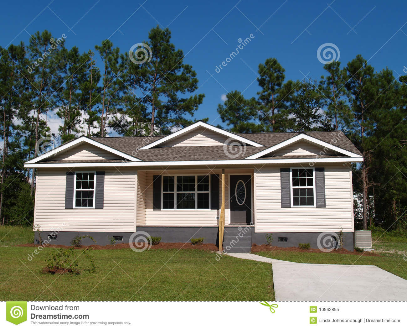 Small low income residential home royalty free stock photo image