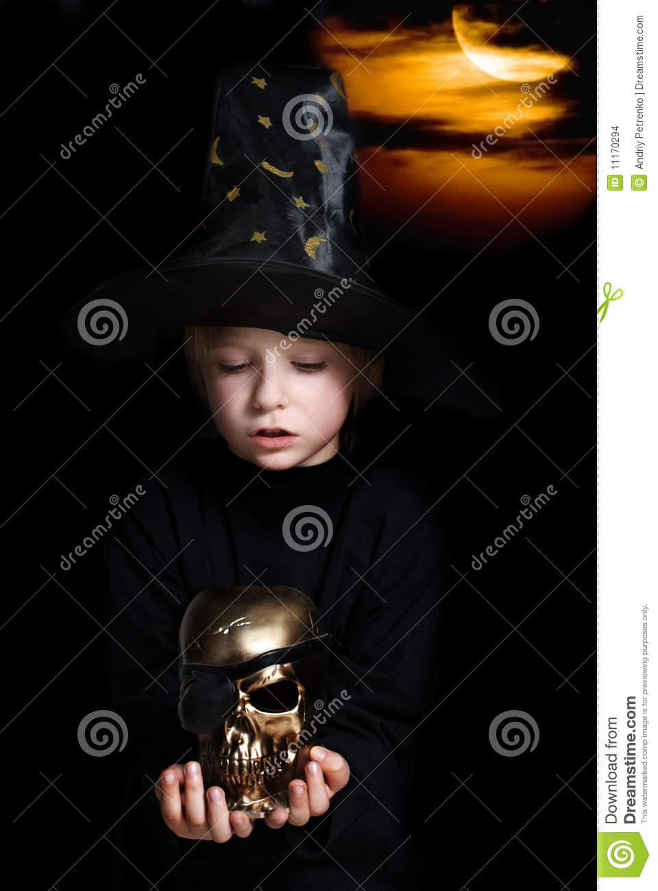 The Small Magician Stock Images Image 11170294