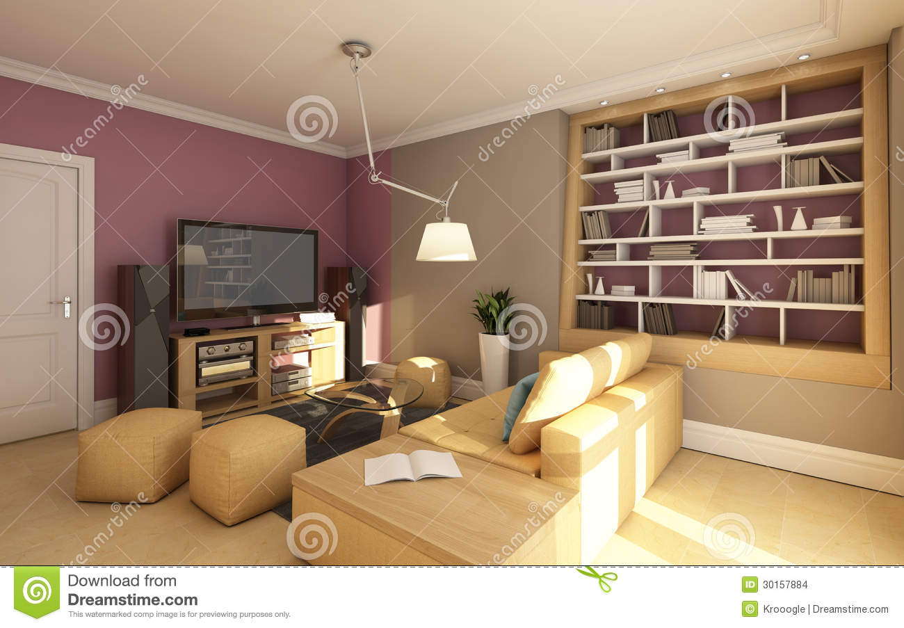 Small Media Room Stock Images Image 30157884