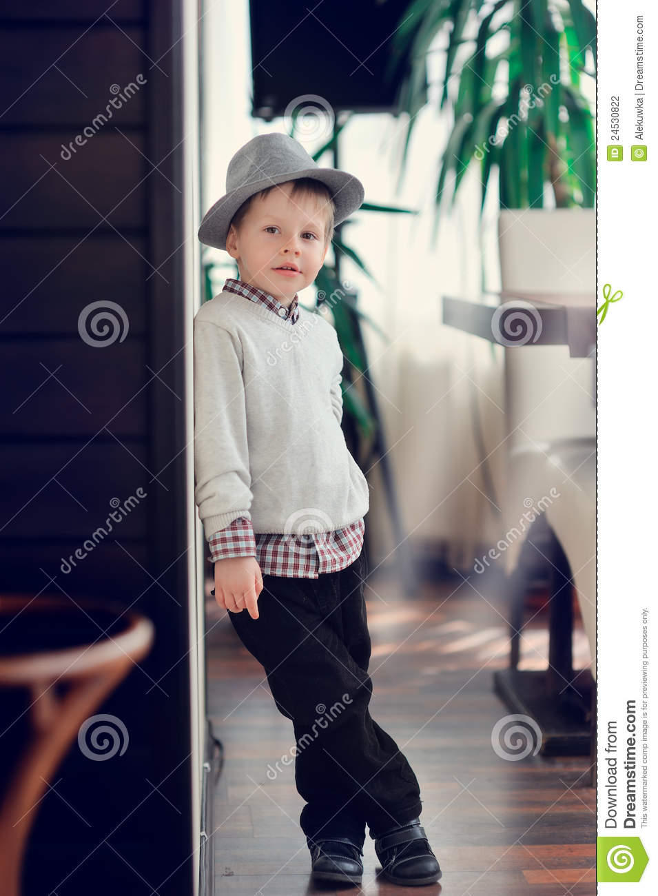 Small model stock photo. Image of portrait, look, chamber