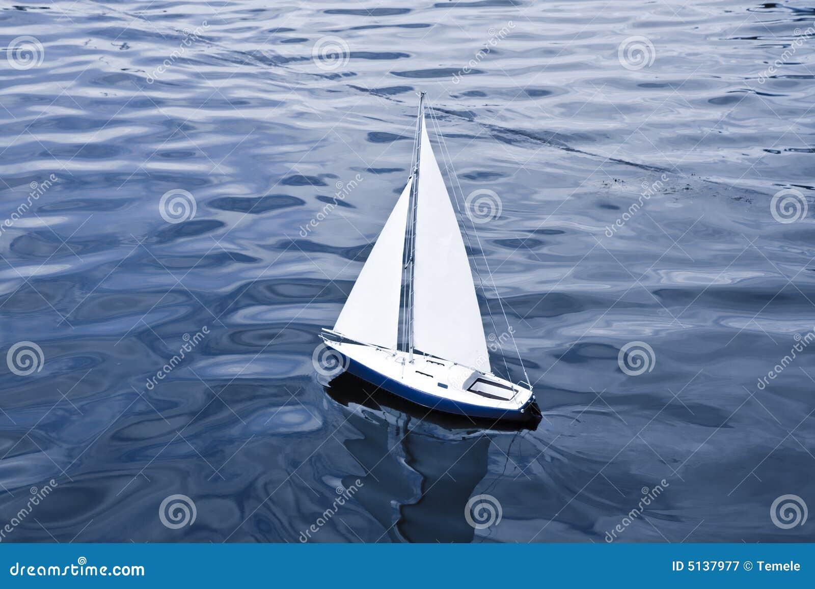 Small Model Of Sailboat Royalty Free Stock Photography ...