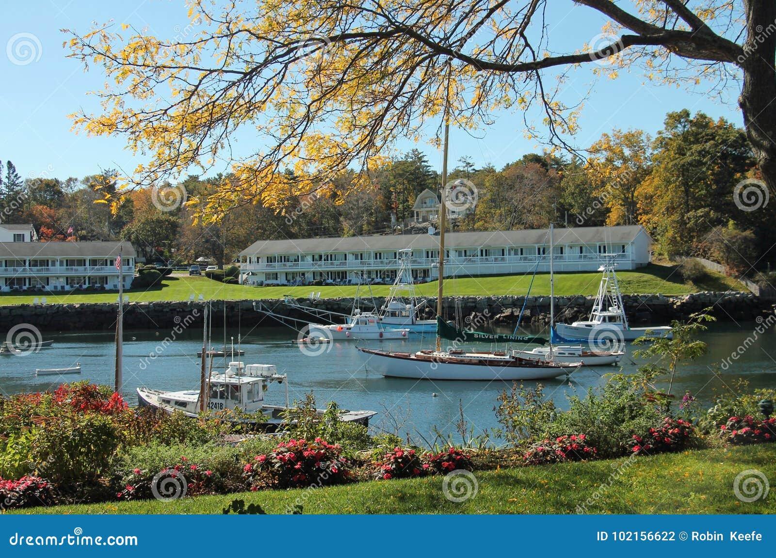 Small New England Harbor