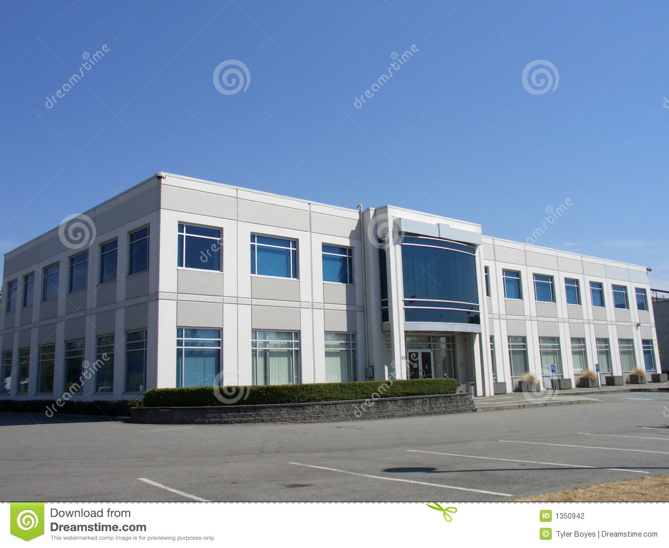 small office building stock photo image of blue business