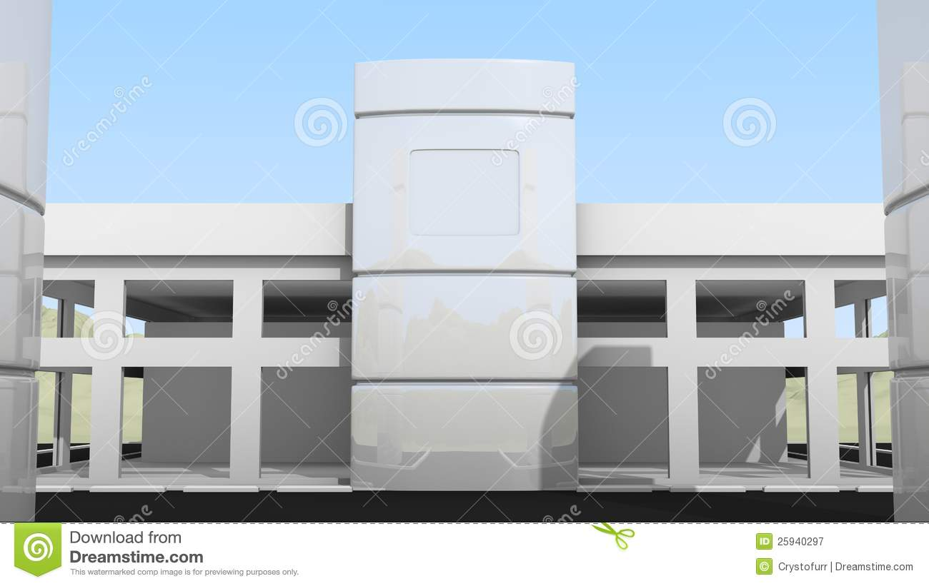 Small office building front stock illustration image for Small building photos