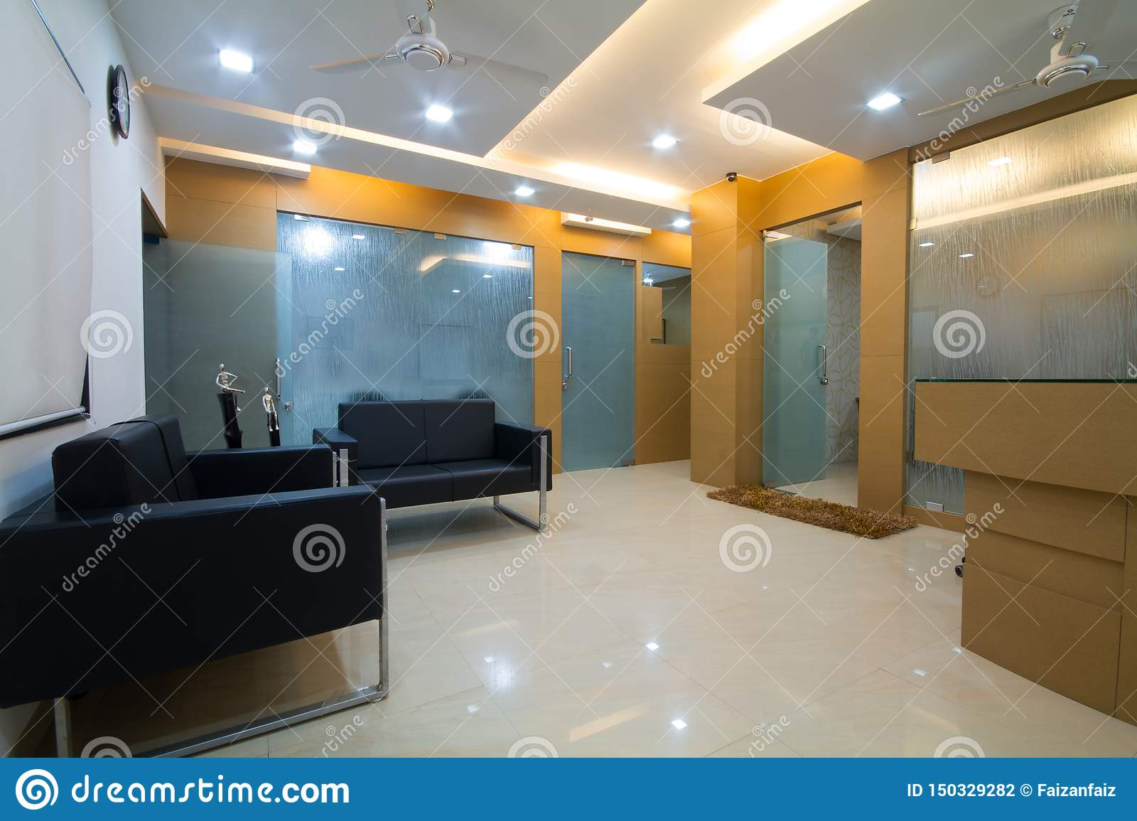 Terrific Small Office Or Clinic Reception Area Stock Photo Image Of Camellatalisay Diy Chair Ideas Camellatalisaycom