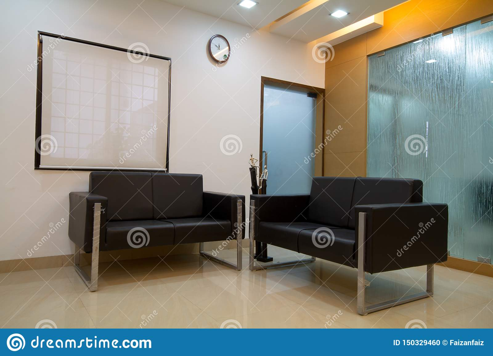 Fabulous Small Office Or Clinic Reception Area Stock Photo Image Of Camellatalisay Diy Chair Ideas Camellatalisaycom