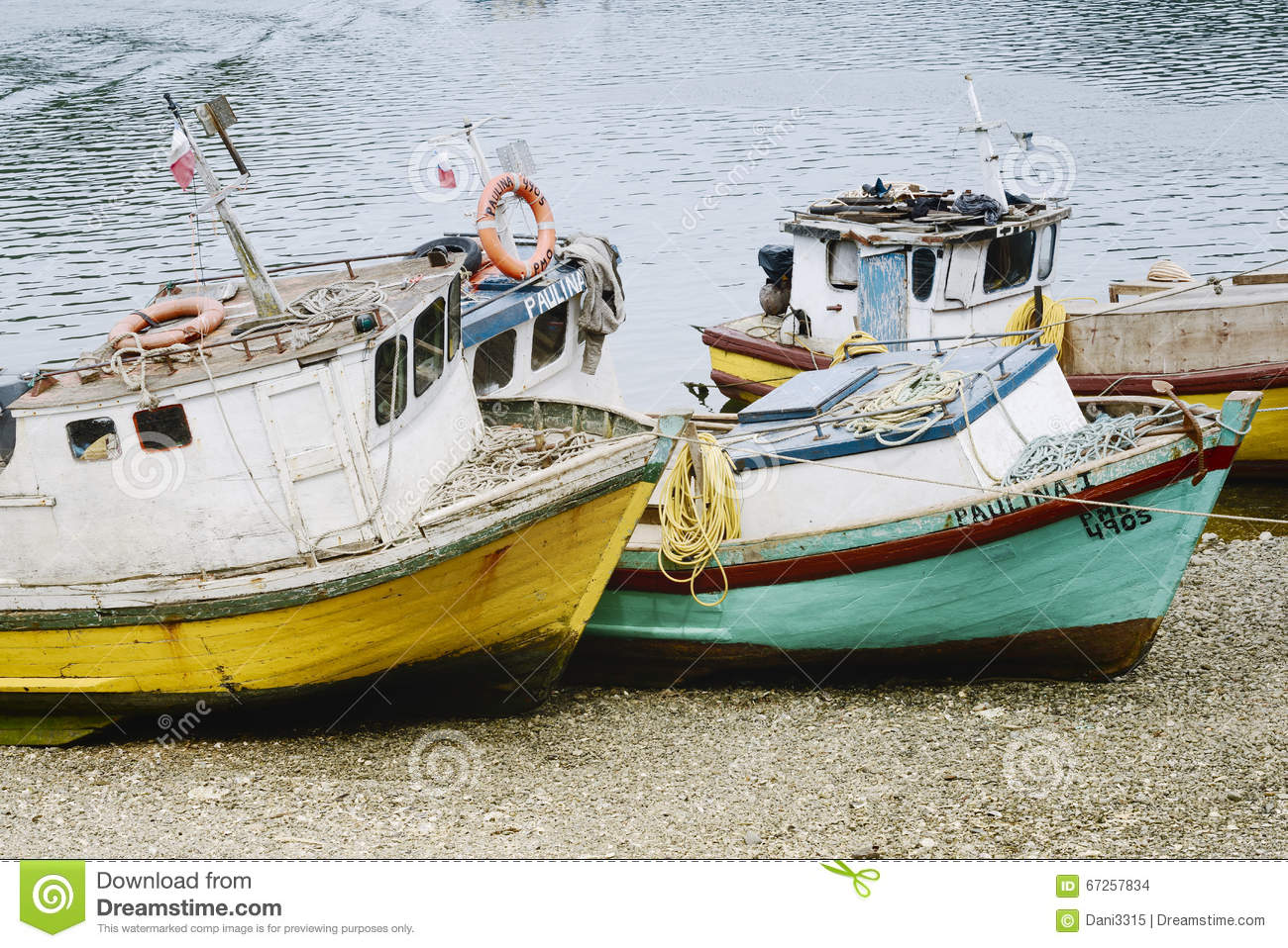 Old fishing boats stock photography for Little fishing boats