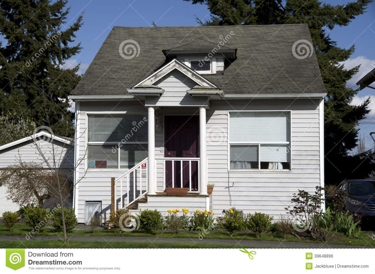 Small Old House Stock Photo Image Of Small Wooden Estate 39648896