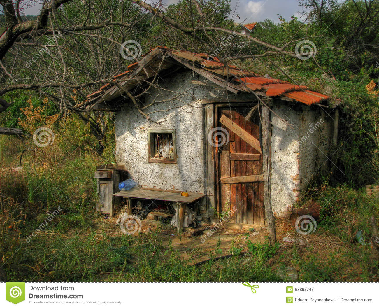 Small Old House Stock Image Image Of Pattern Small 68897747