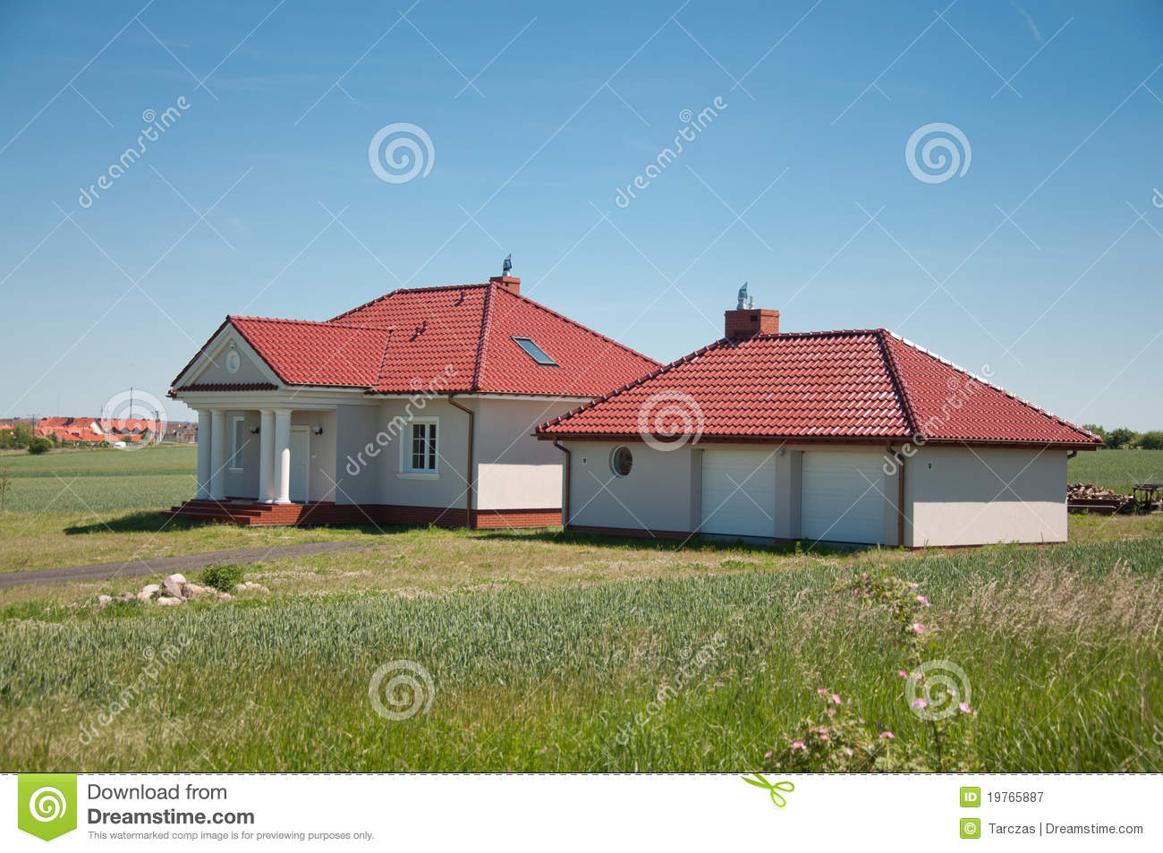 Small one family house