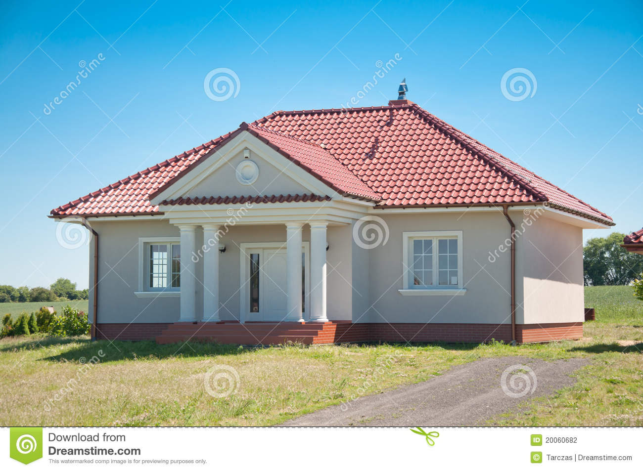 Small One Family House Stock Photography Image 20060682