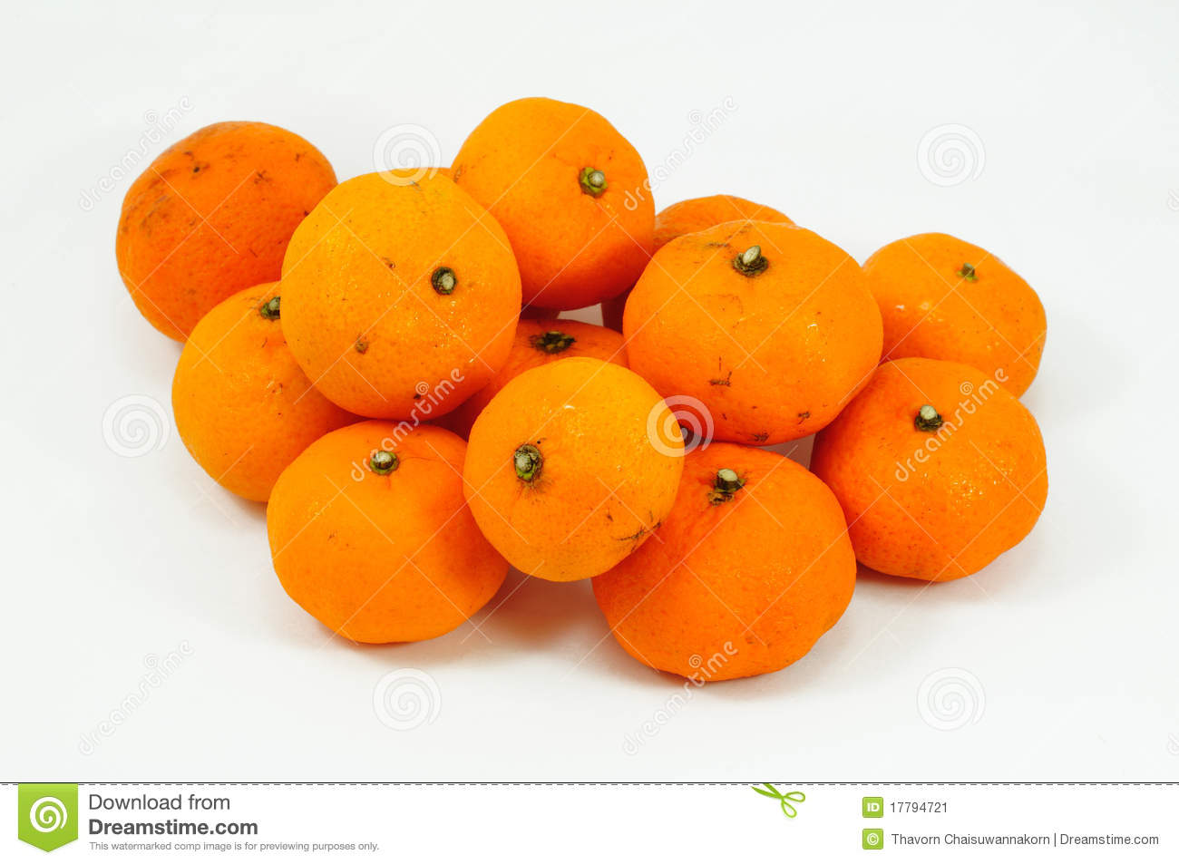 Small Oranges Stock Image Image 17794721