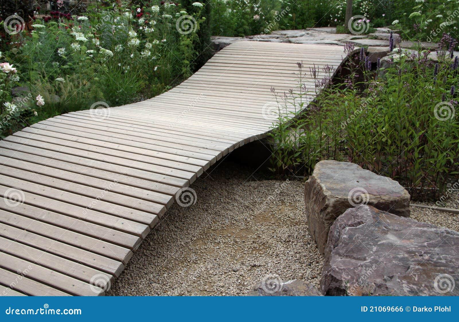 Small Wooden Bridge For Garden