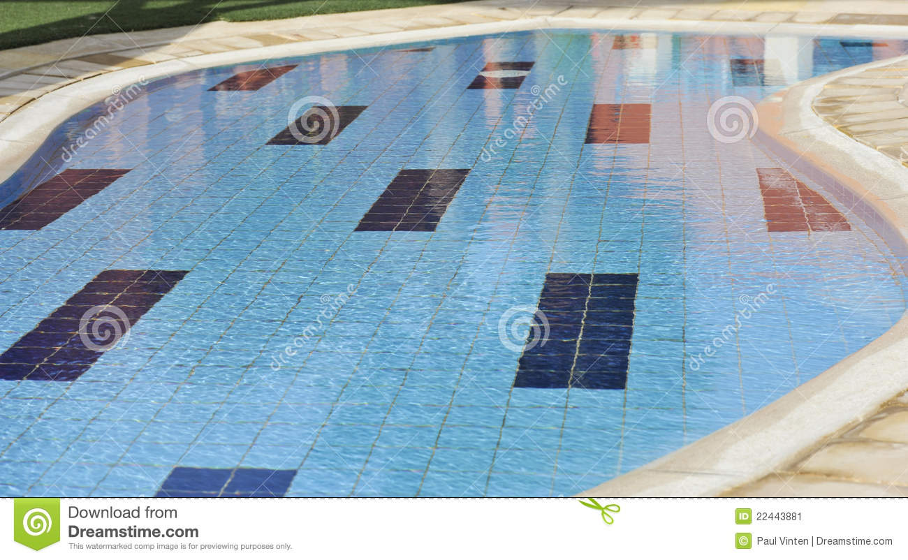Small paddling pool at a hotel stock image image 22443881 for Small paddling pool