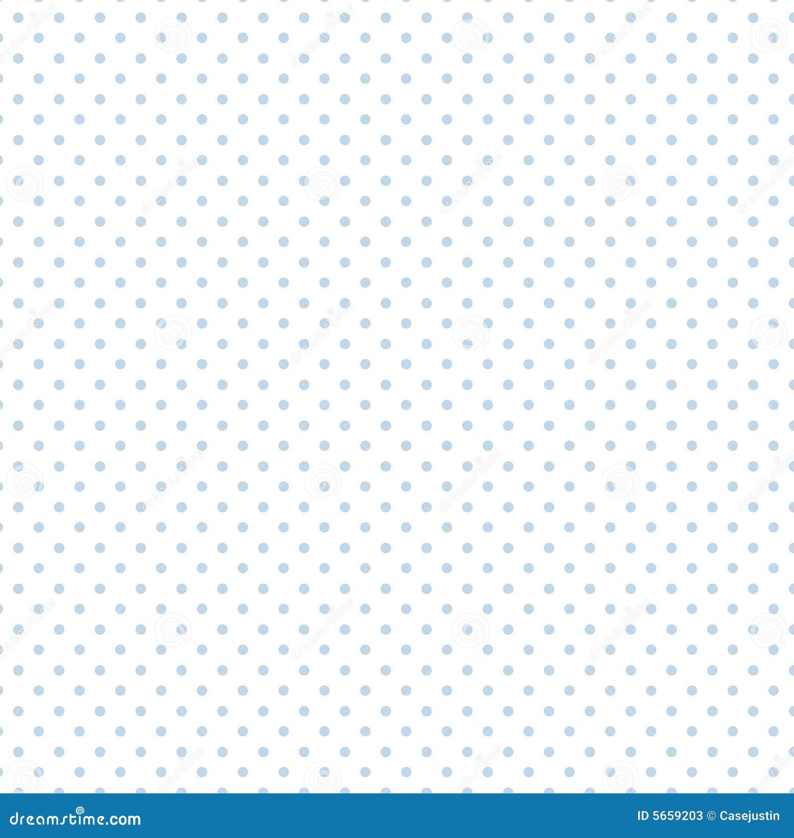 Small Pastel Blue Polka Dots On White, Seamless Stock ...