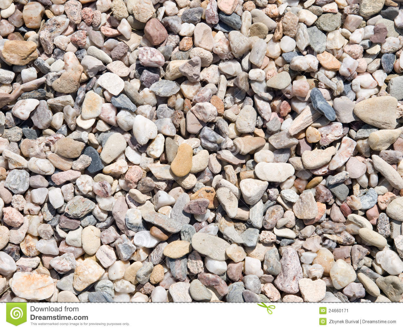 Small pebbles texture stock image image 24660171 for Small river pebbles