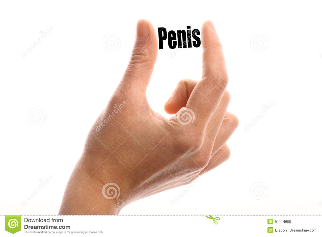 Something is. small penis clip