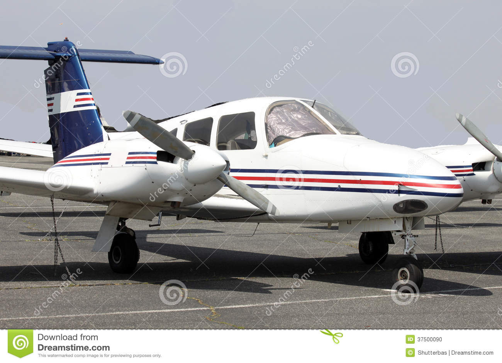 Small Plane In Big Mountains Stock Photo Cartoondealer