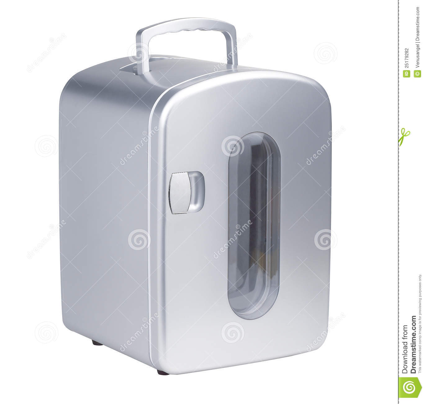 A Small Portable Refrigerator Stock Photography - Image