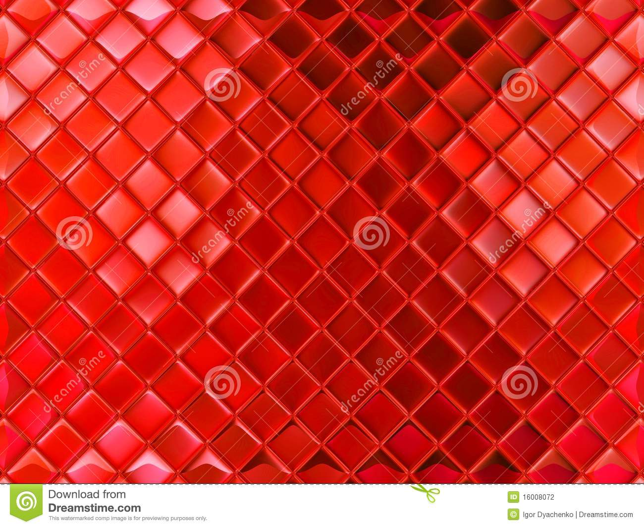 Small Red Glass Tile Stock Photo Image Of Wallpeper