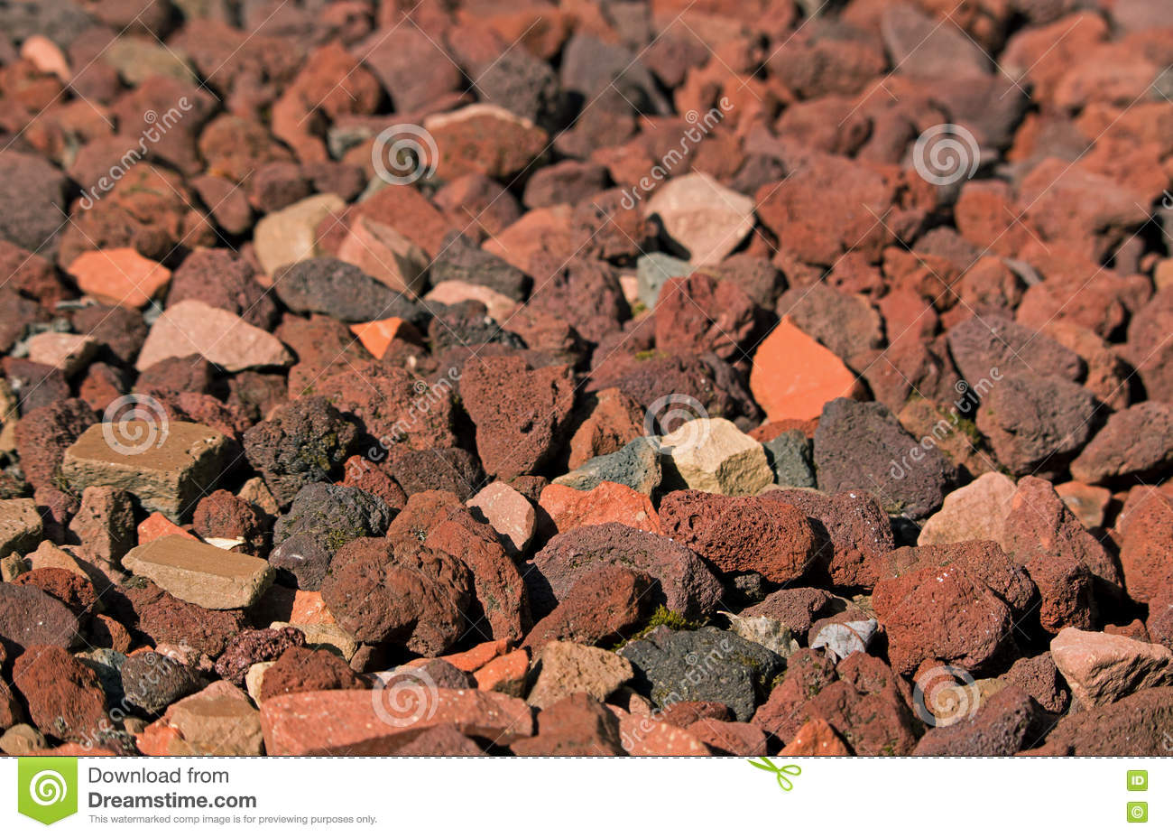 Small Red Rocks stock image  Image of decorative, stone - 77028979