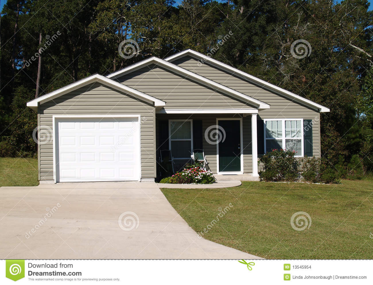 Small Residential Home Stock Photo Image Of Lower