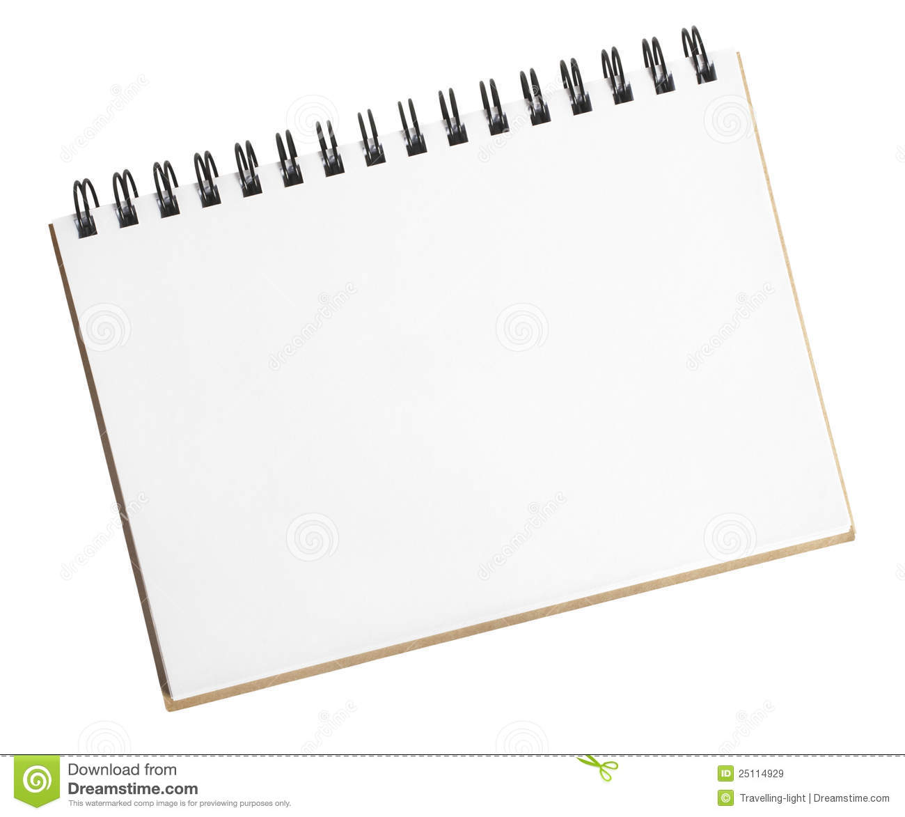 Small Sketch Pad Royalty Free Stock Images - Image: 25114929
