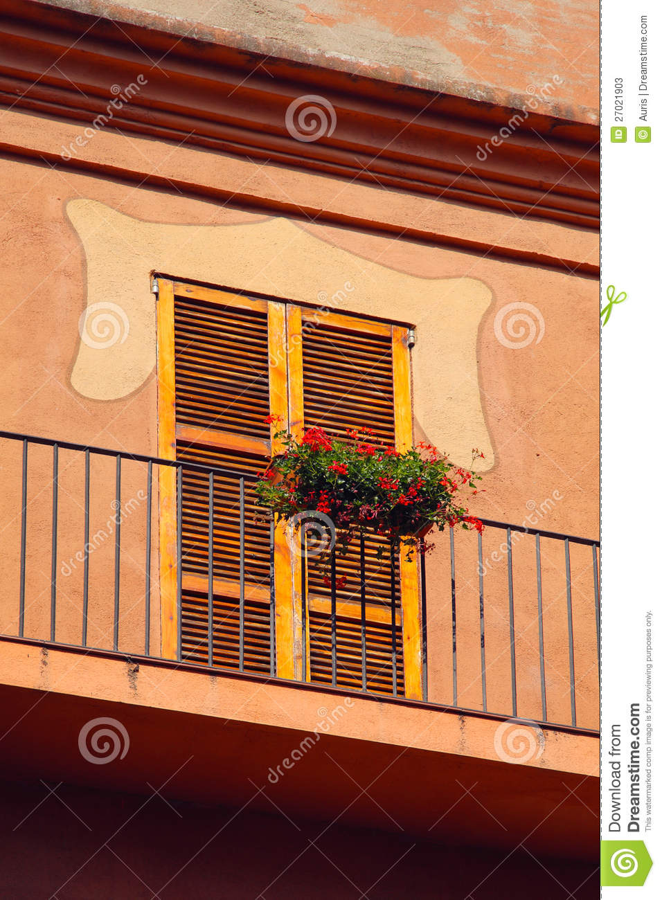 Small spanish balcony stock photos image 27021903 for Balcony in spanish