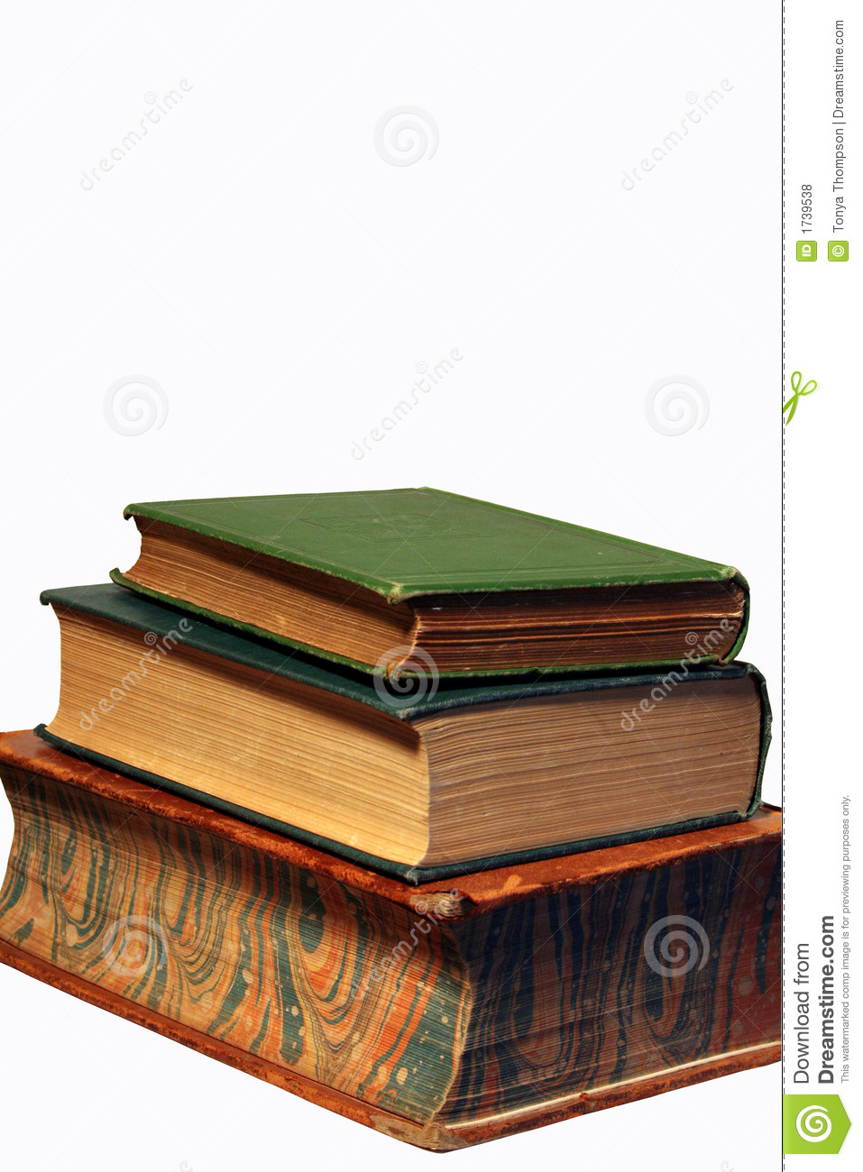books stack three antique against college preview dreamstime