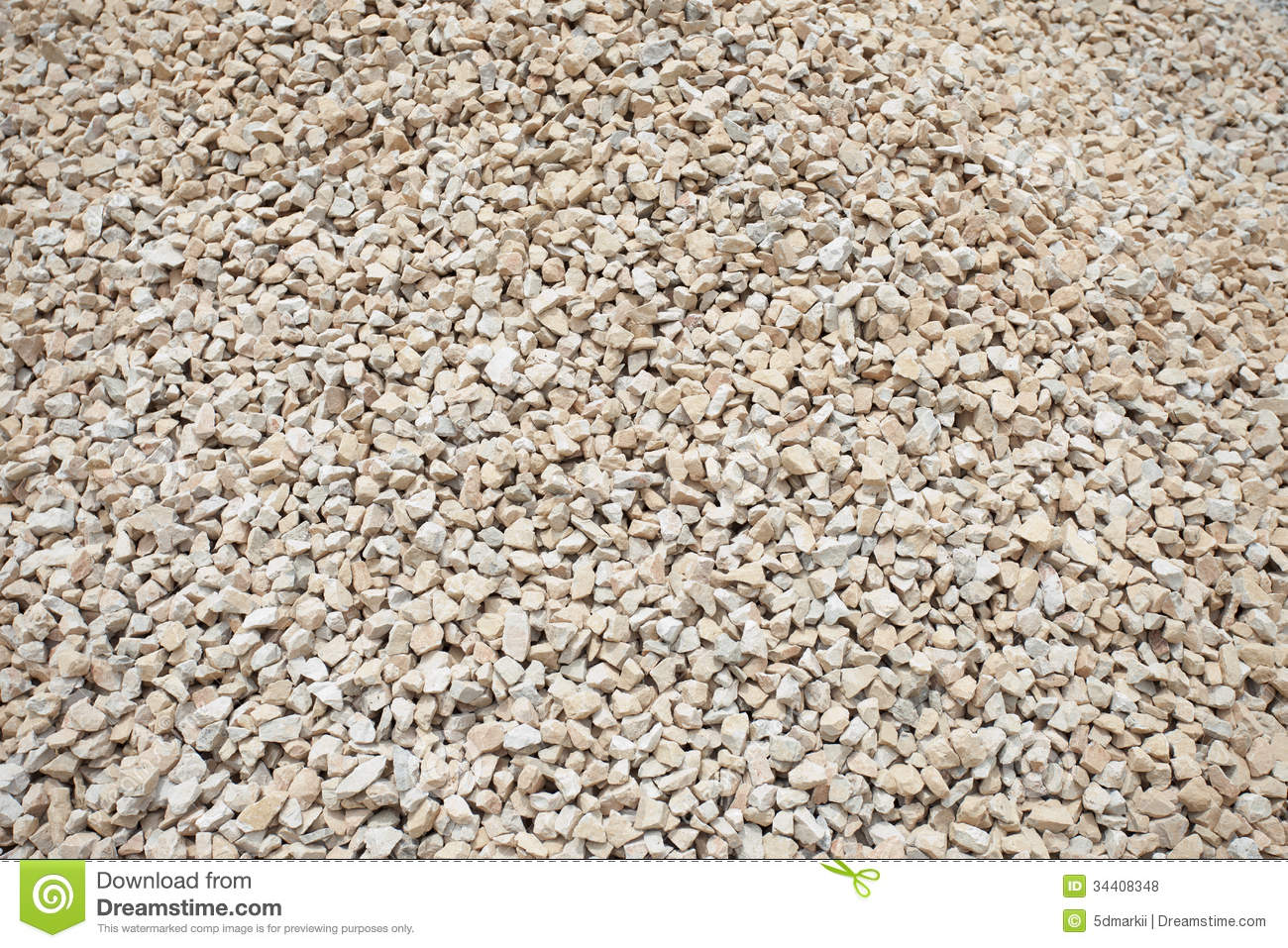 Stone Building Material : Small stone for building material royalty free stock