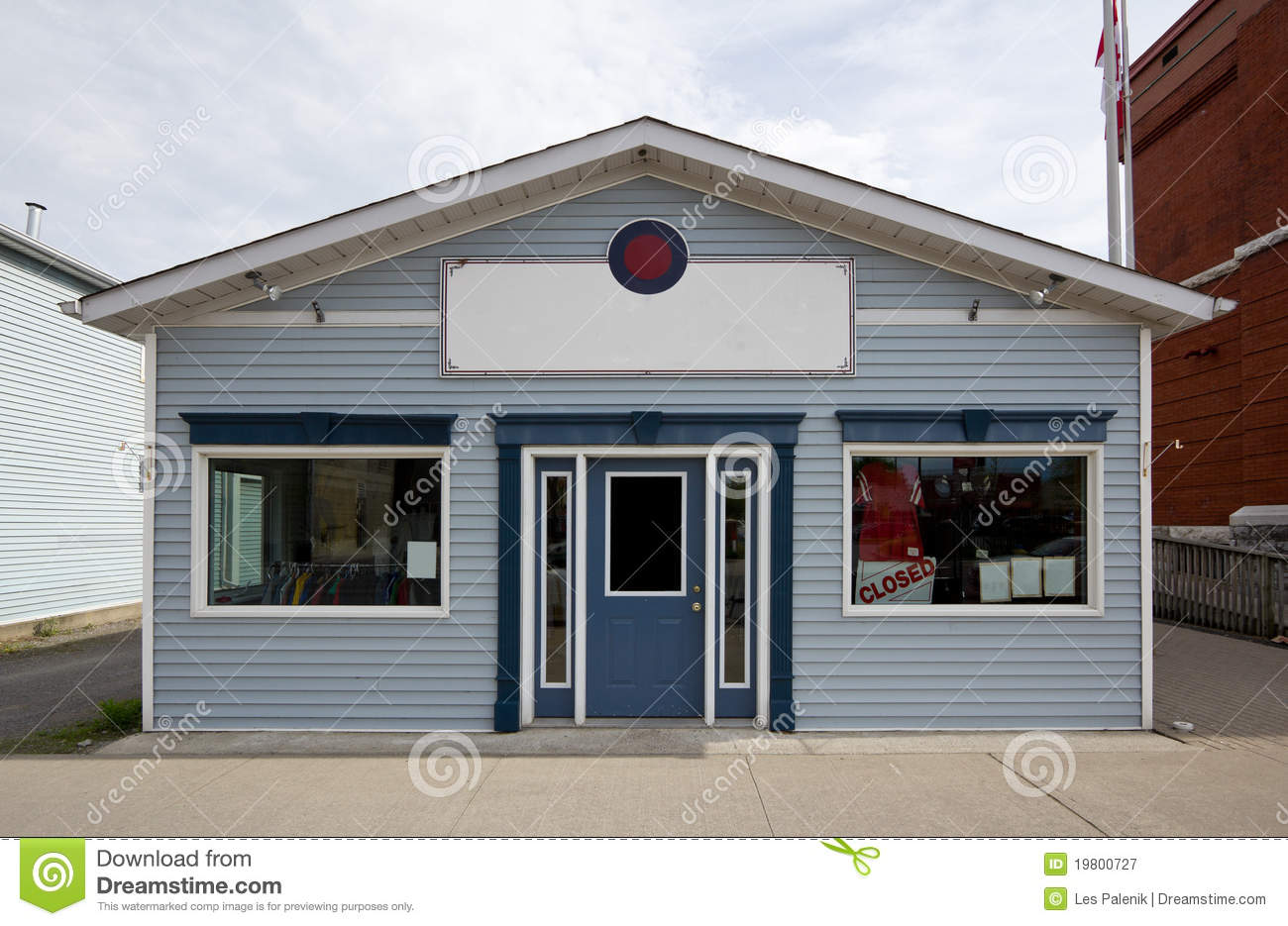 small store building stock image image of house tiny