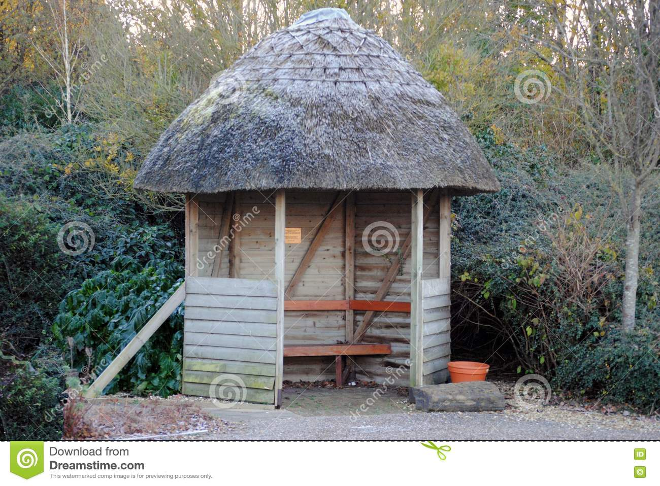 A Small Summer House Royalty Free Stock Photos Image