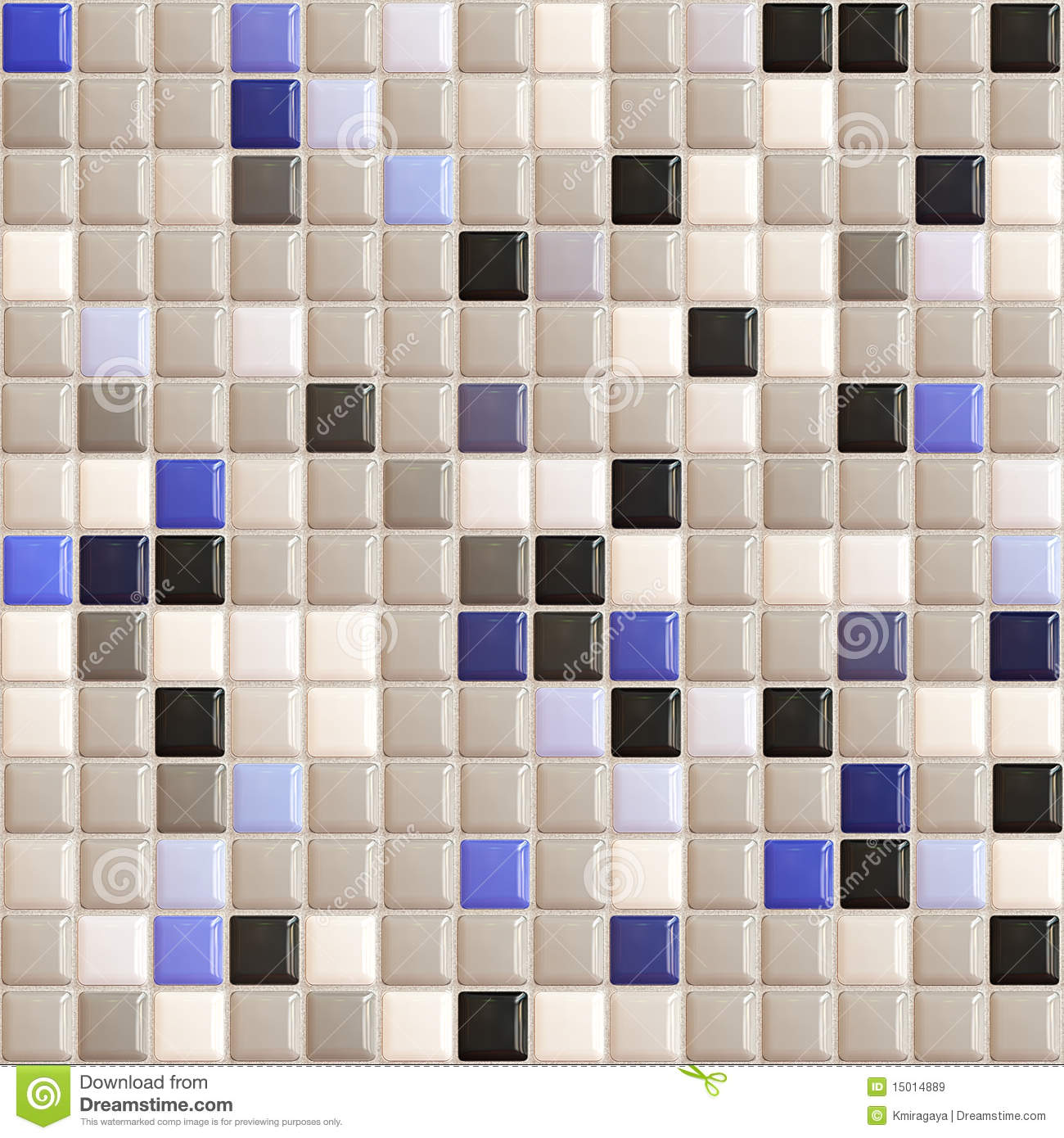 small tiles seamless texture useful for kitchen bathrooms or pools