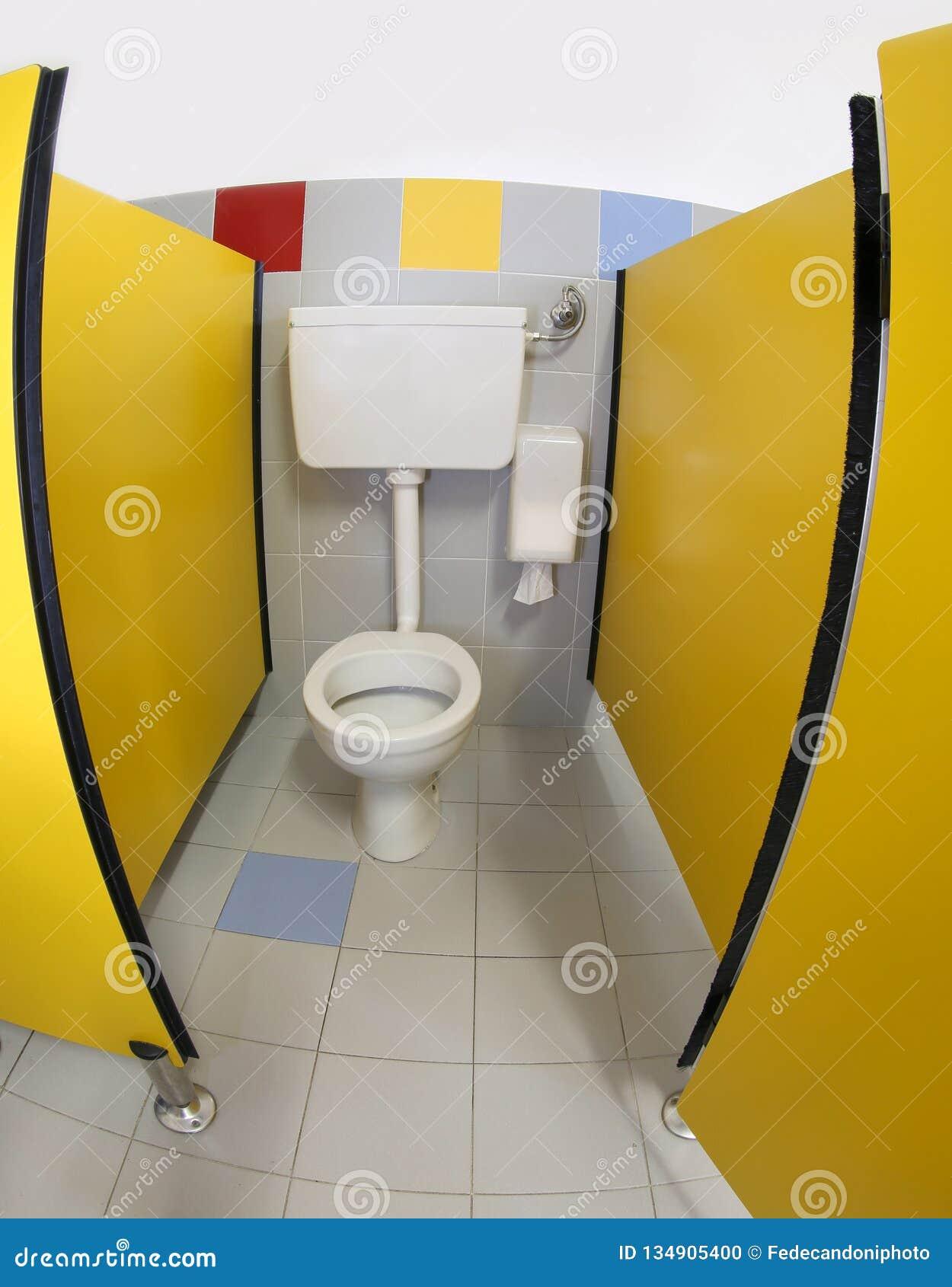 Toilet inside the nursery bathrooms