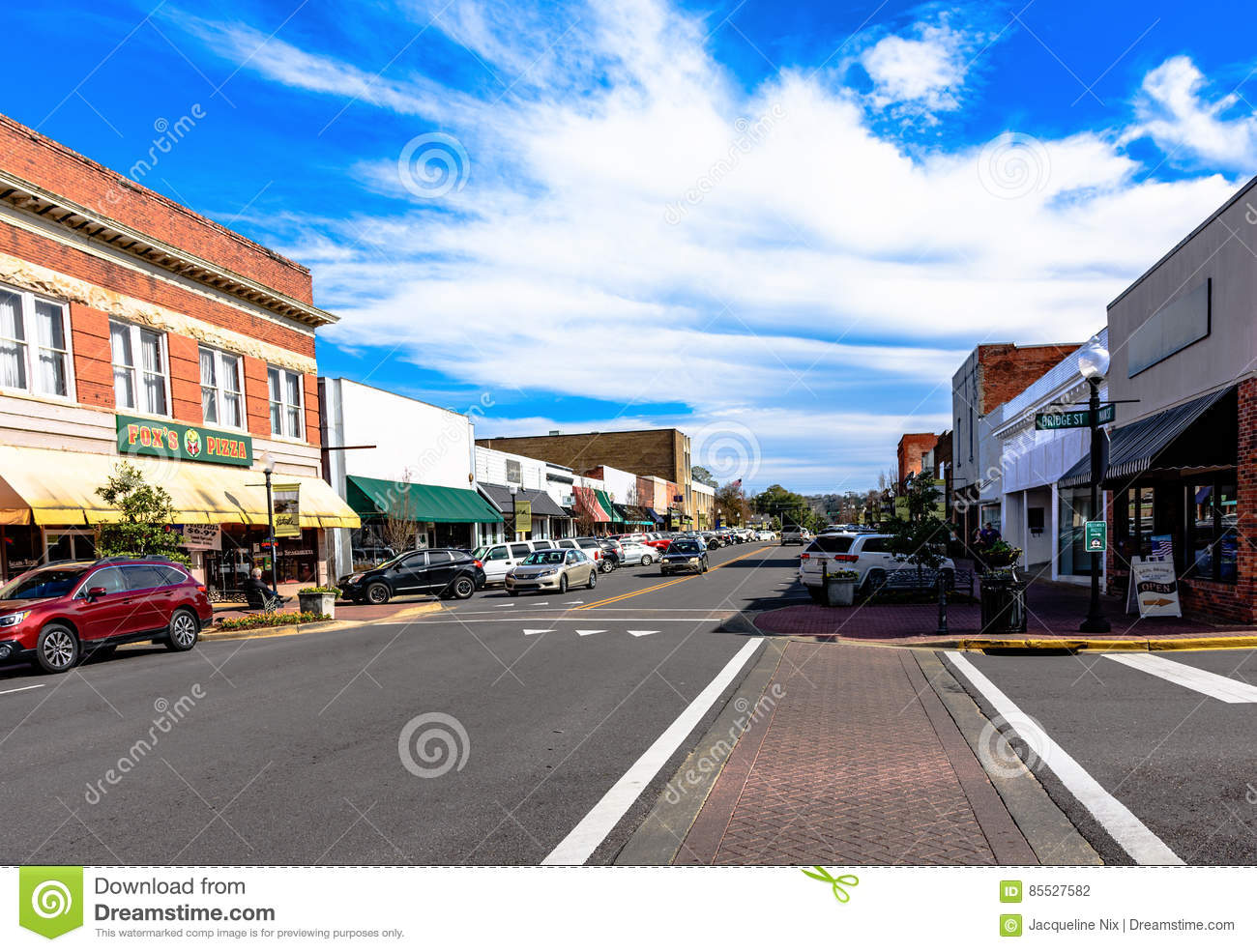 Small town Americana editorial photography  Image of